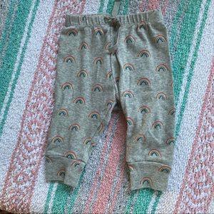 BABY GAP Rainbow print pants size 3-6 months